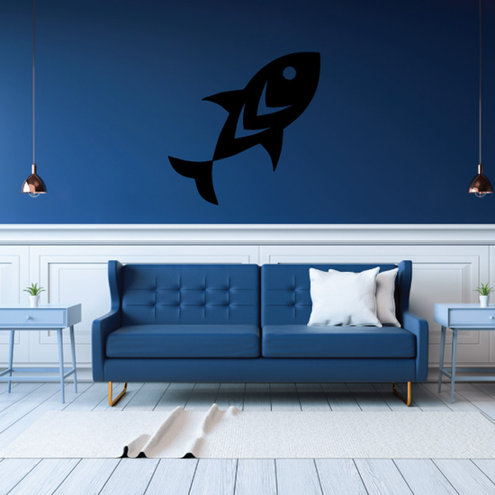 Fish Wall Decal - Vinyl Decal - Car Decal - DC736