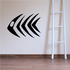 Fish Wall Decal - Vinyl Decal - Car Decal - DC737
