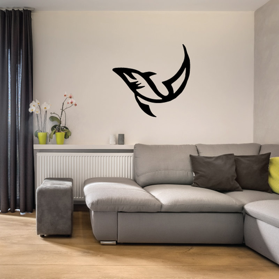 Tribal Fish Wall Decal - Vinyl Decal - Car Decal - DC742