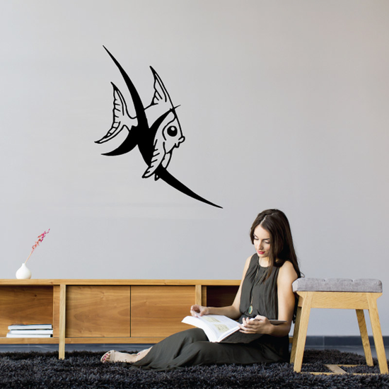 Tribal Fish Wall Decal - Vinyl Decal - Car Decal - DC744