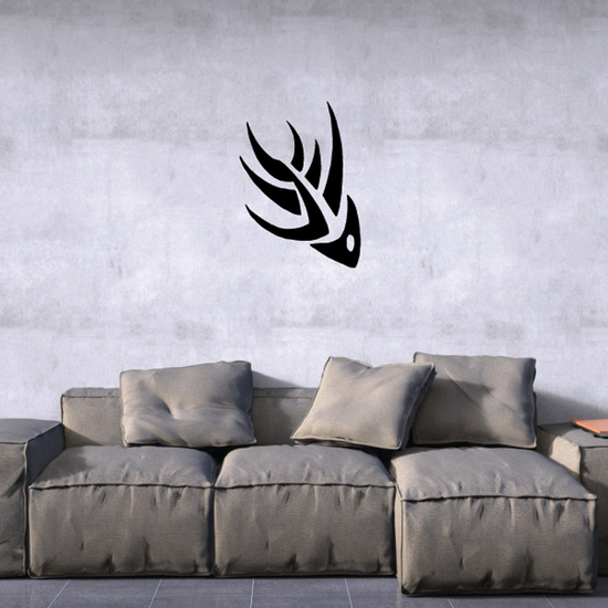 Tribal Fish Wall Decal - Vinyl Decal - Car Decal - DC753