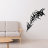 Tribal Fish Wall Decal - Vinyl Decal - Car Decal - DC754