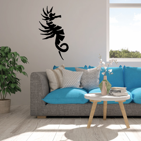 Withered Seahorse Decal