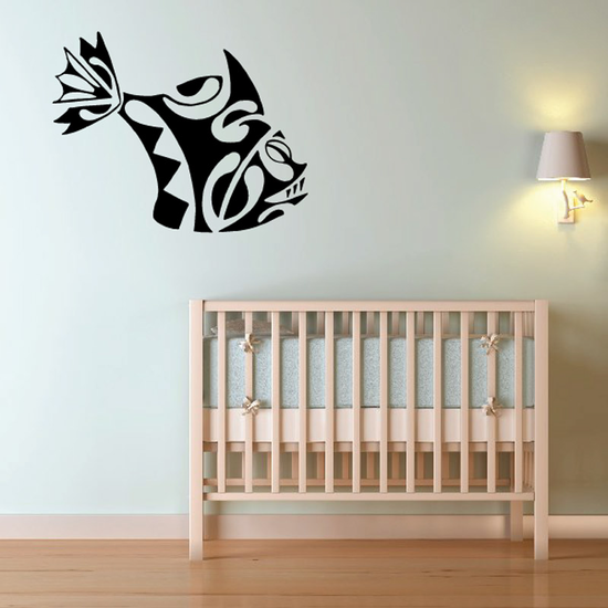 Tribal Fish Wall Decal - Vinyl Decal - Car Decal - DC768
