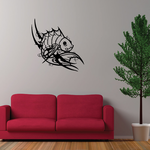 Tribal Fish Wall Decal - Vinyl Decal - Car Decal - DC772