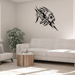 Tribal Fish Wall Decal - Vinyl Decal - Car Decal - DC773