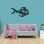 Tribal Fish Wall Decal - Vinyl Decal - Car Decal - DC780
