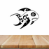 Tribal Fish Wall Decal - Vinyl Decal - Car Decal - DC781