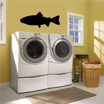 Swimming Rainbow Trout Fish Decal