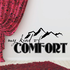 My Kind of Comfort are the Mountains Wall Decal
