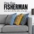 One fine fisherman lives here with the catch of his life Fishing Pole Wall Decal