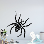 Wobbly Spider Decal