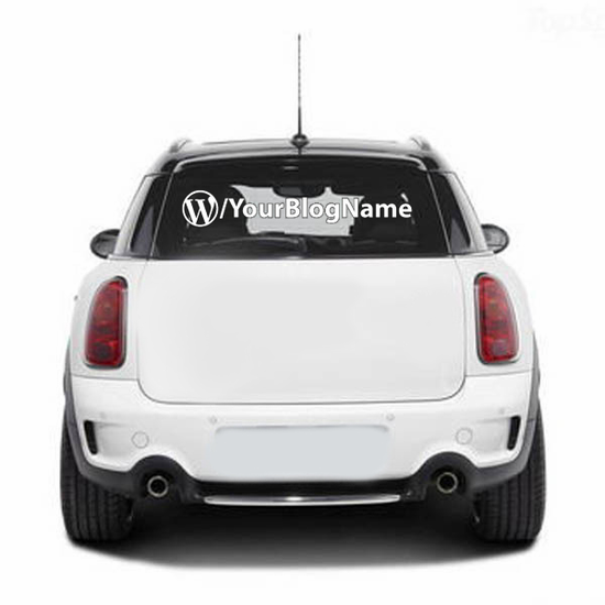 Custom Wordpress Decal