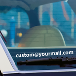 Custom eMail Address Decal
