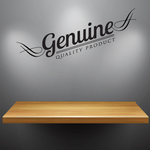 Genuine Quality Product Wall Decal - Vinyl Decal - Car Decal - Id004