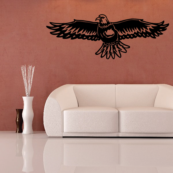 Bald Eagle Spread Wings Decal