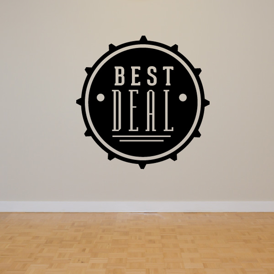 Best Deal Wall Decal - Vinyl Decal - Car Decal - Id019