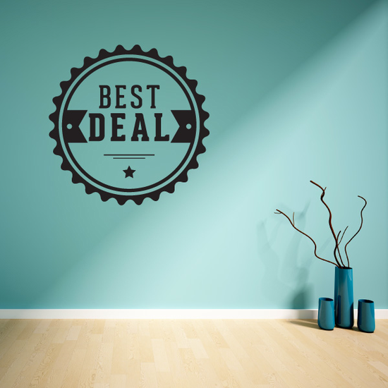 Best Deal Wall Decal - Vinyl Decal - Car Decal - Id021