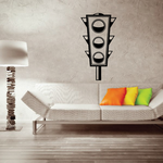 Race Lights Wall Decal - Vinyl Decal - Car Decal - DC002