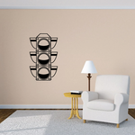 Race Lights Wall Decal - Vinyl Decal - Car Decal - DC003