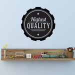 Highest Quality Wall Decal - Vinyl Decal - Car Decal - Id034