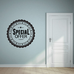Specail Offer Wall Decal - Vinyl Decal - Car Decal - Id044