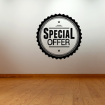 Special Offer Wall Decal - Vinyl Decal - Car Decal - Id046