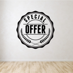 Special Offer Wall Decal - Vinyl Decal - Car Decal - Id047