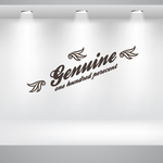 Genuin 100% Wall Decal - Vinyl Decal - Car Decal - Id057