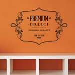 Premium Product Original Quality Your Text Here Wall Decal - Vinyl Decal - Car Decal - Id072