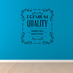 Premium Quality Special Edition Wall Decal - Vinyl Decal - Car Decal - Id073