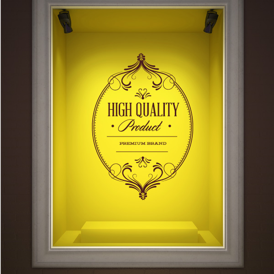 High Quality Product Premium Brand Wall Decal - Vinyl Decal - Car Decal - Id083
