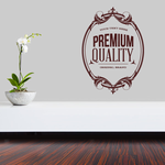 Premium Quality Original Brand Wall Decal - Vinyl Decal - Car Decal - Id086 - Customize Me