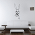 Looking Up Rabbit Decal