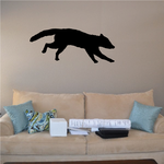 Raccoon Running Silhouette Decal