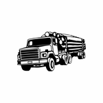 Logging Truck Decal