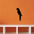 Classic Parrot Silhouette Decal