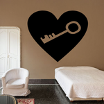 Key to My Heart Decal