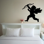 Flying Cupid Decal