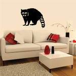 Raccoon Directly Staring Decal
