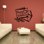 Valentines Card Decal