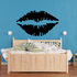 Kissing Lips Decal