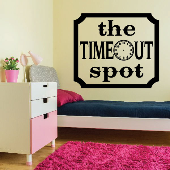 The Timeout Spot Wall Decal