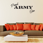 Proud Army Son Decal