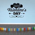 Happy Valentines Day Decal