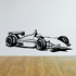 Detailed Indy Car Decal