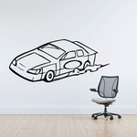 Simple Stock Car Decal