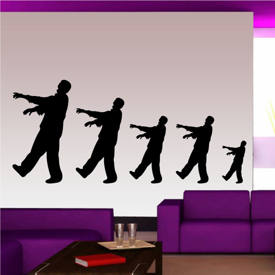 Zombie Family Decal