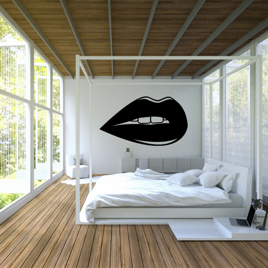 Valentines Day Sensual Lips Decal