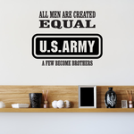 Army Brothers Decal